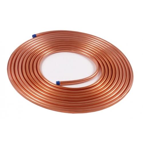 Труба медная для кондиционеров Halcor 1/4 15 метров